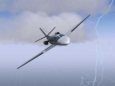 FlightGear screenshot 3