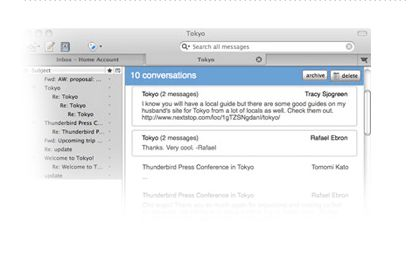 client email thunderbird