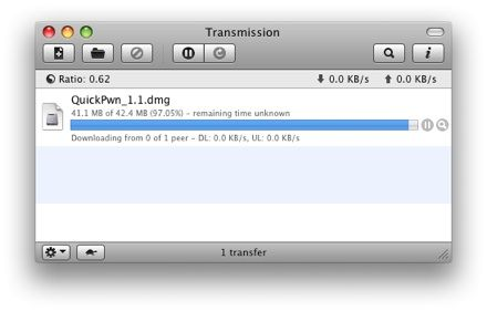 client torrent transmission