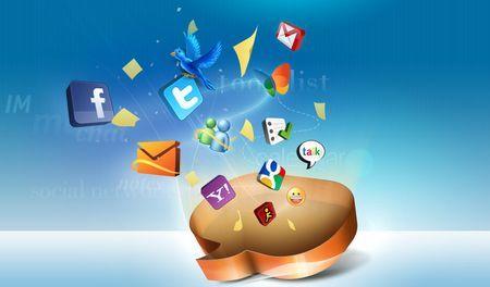 client web facebook twitter messenger