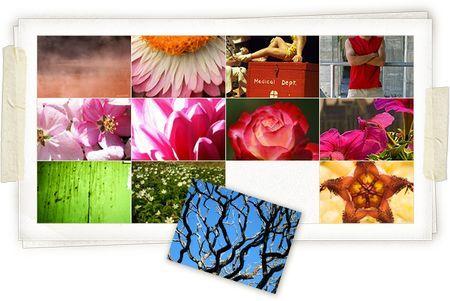 Costruire collage di immagini in base all'umore