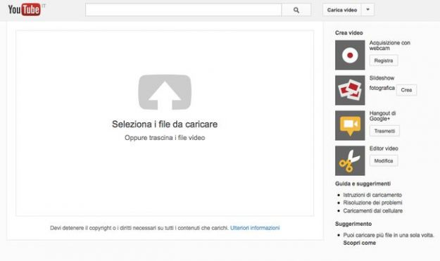 Come caricare video lunghi su YouTube