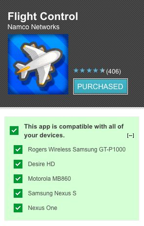 compatibilità device android
