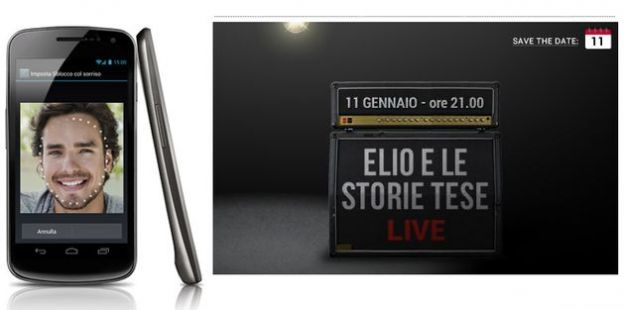 Un concerto online interattivo di Elio e le Storie Tese: si partecipa con il Galaxy Nexus