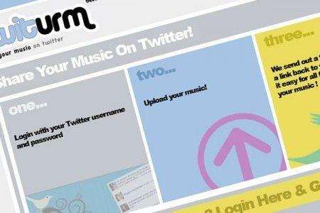 condividere musica twitter