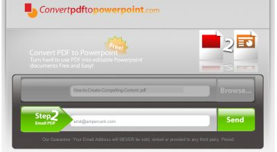 Convertire un file PDF in PowerPoint