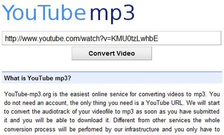 convertire youtube in mp3 youtubemp3