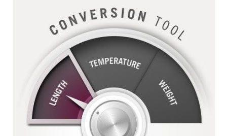 Convertire unità di misura con Conversion Tool