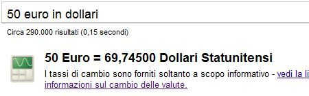 convertitore valuta google
