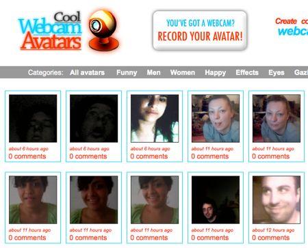 cool webcam avatars