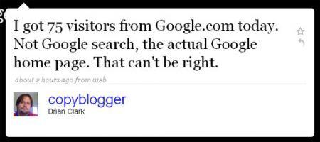 Copyblogger lamenta il problema delle ricerche in Ajax
