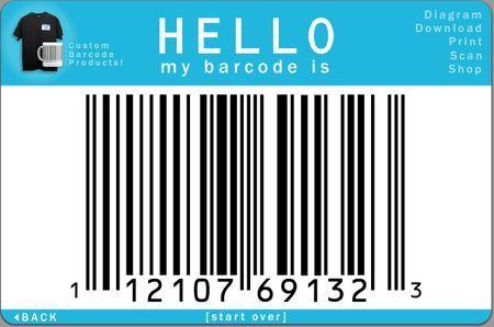 Creare il codice a barre di una persona con Barcode Yourself