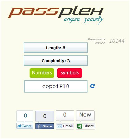 Creare password: come creare una password sicura con Passplex