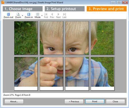 Creare poster con immagini personali con imageprint for Programma per creare cucine gratis