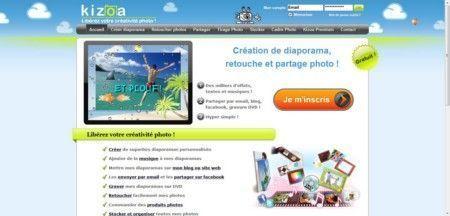 Creare presentazioni su internet con Kizoa
