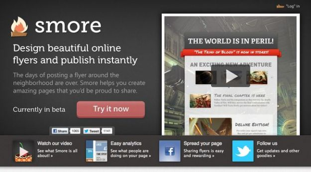 creare volantini online gratis smore