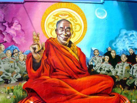 Dalai Lama iphone