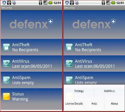 Antivirus Android: da Defenx la suite sicurezza per gli smartphone Google
