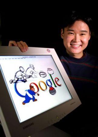 google loghi olimpici cerimonia d'apertura