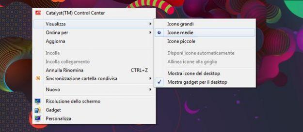 dimensione icone desktop