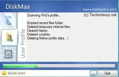 diskmax registro sistema