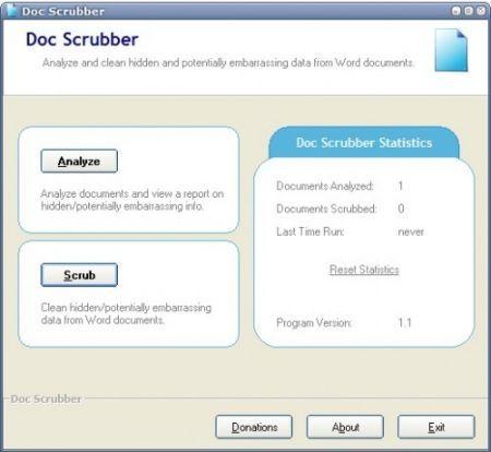 Doc Scrubber