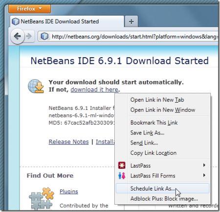 Download su Firefox: come programmarli con Download Scheduler