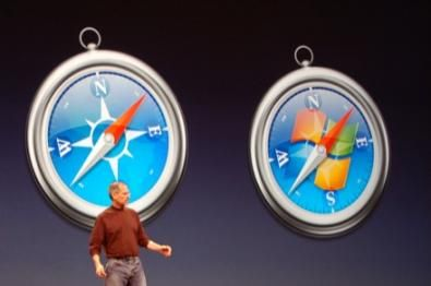 Jobs presenta Safari per Windows
