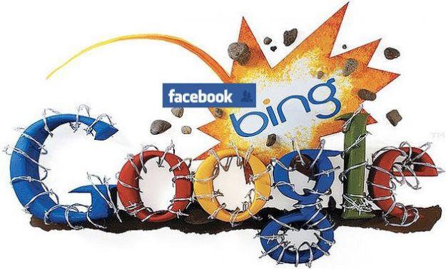 facebook bing logout