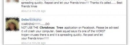 facebook christmas tree