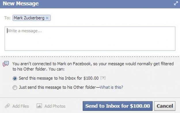 facebook messaggi a pagamento vip test
