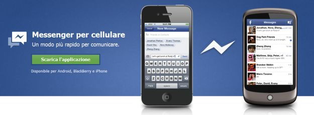 Facebook Messenger su Mobile, download e funzionamento