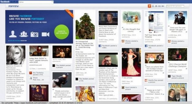 facebook pinterest app pinview