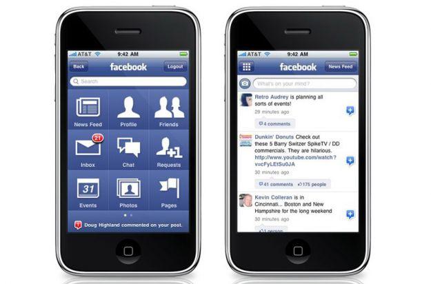 Il social network Facebook è accusato di leggere gli SMS degli utenti