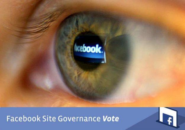 Su Facebook si vota per la privacy, inizia il referendum