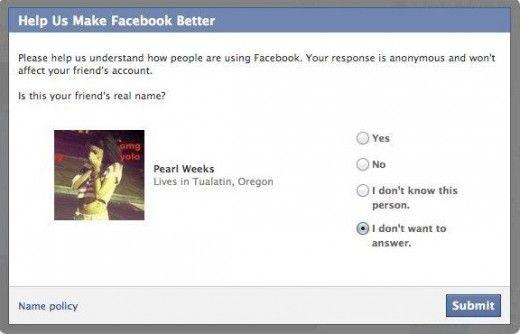 facebook profili falsi pseudonimi
