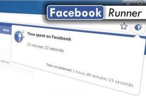 Facebook social network: calcola il tempo trascorso con Facebook Runner