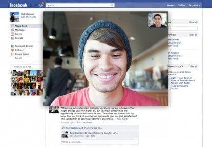 Accordo Facebook Skype per la videochat sul Social Network