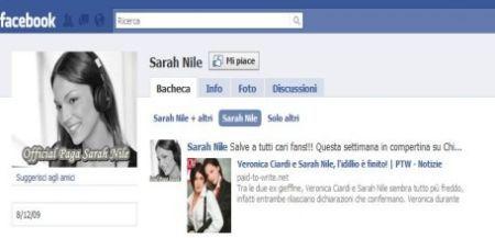 Facebook Sarah Nile