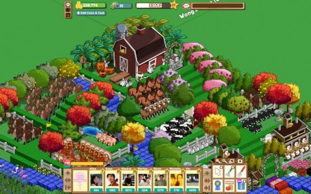 farmville 2 facebook