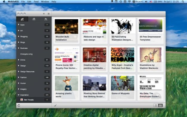 I migliori feed reader RSS per Mac