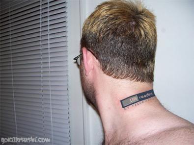 feedburner tatuaggio