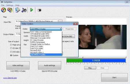 file video VidSplitter