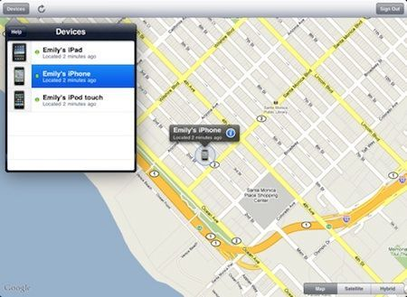 Find my iPhone, da Apple, anche per iPad e iPod touch