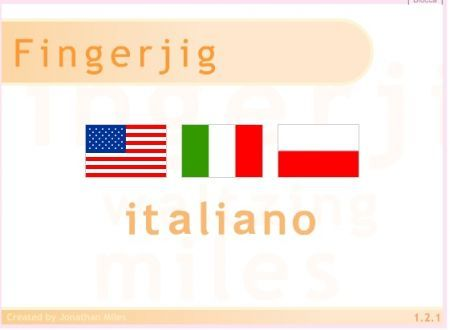 fingerjig in italiano