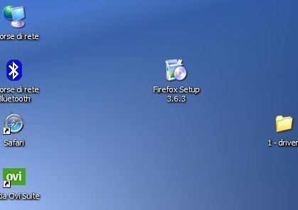 Avvio dell'installazione di Mozilla Firefox