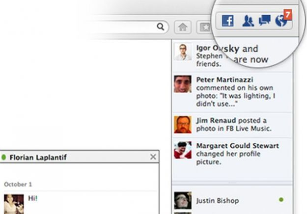 Firefox 17: integrare Facebook nel browser