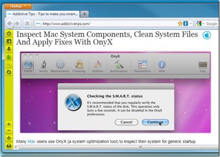 Firefox 4: posizionare i pulsanti preferiti in una barra laterale con Vertical Toolbar
