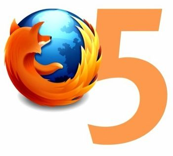 Firefox 5 disponibile al download in versione beta (ma con poche novità)