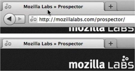 Anche su Firefox 4 scompare la barra degli indirizzi (ma non è una grande novità)